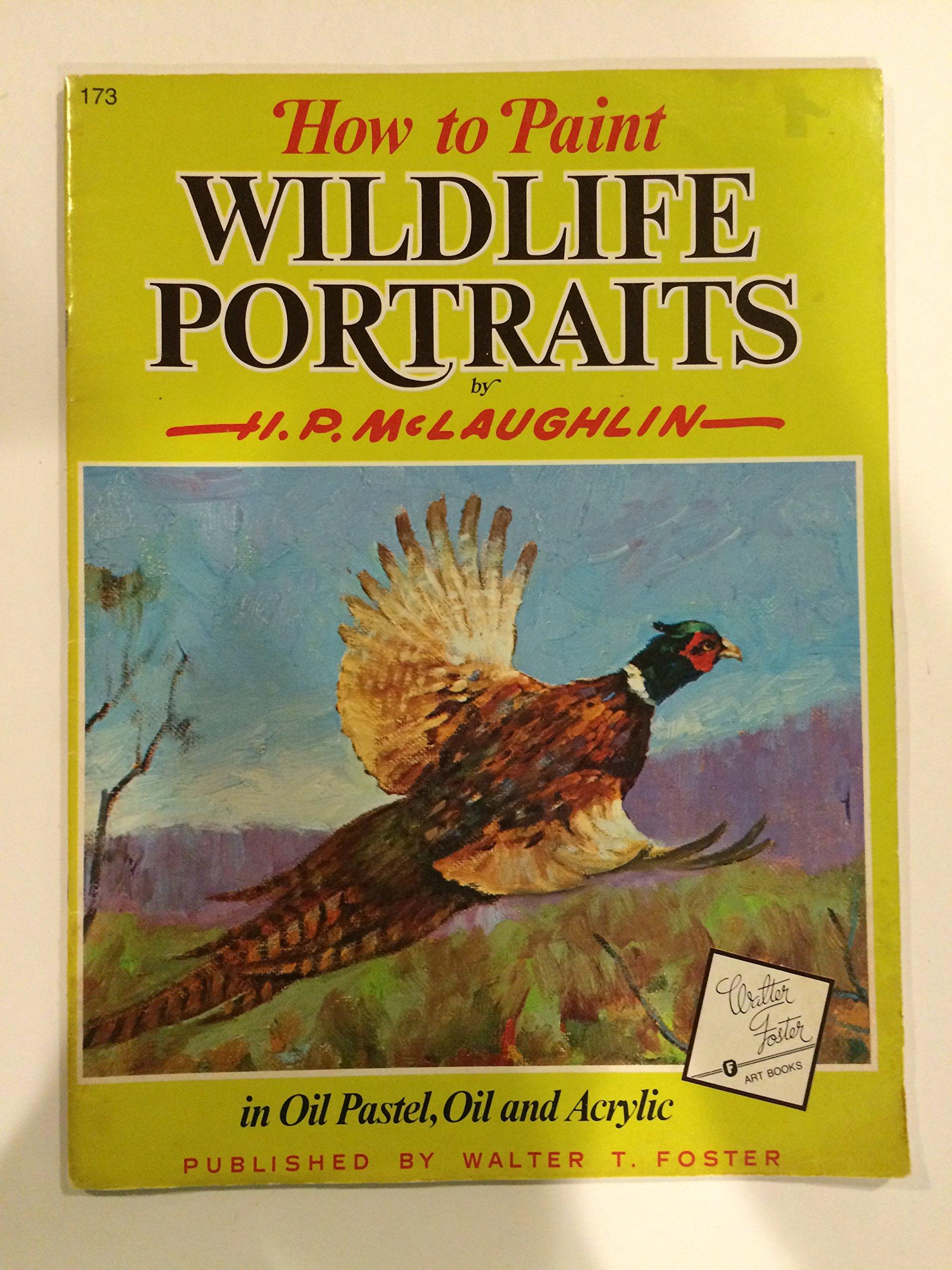 How paint wildlife portraits acrylic