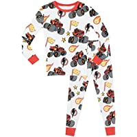 Blaze and the Monster Machines - Pijama para Niños - Blaze y Los Monster Machines - Ajuste Ceñido