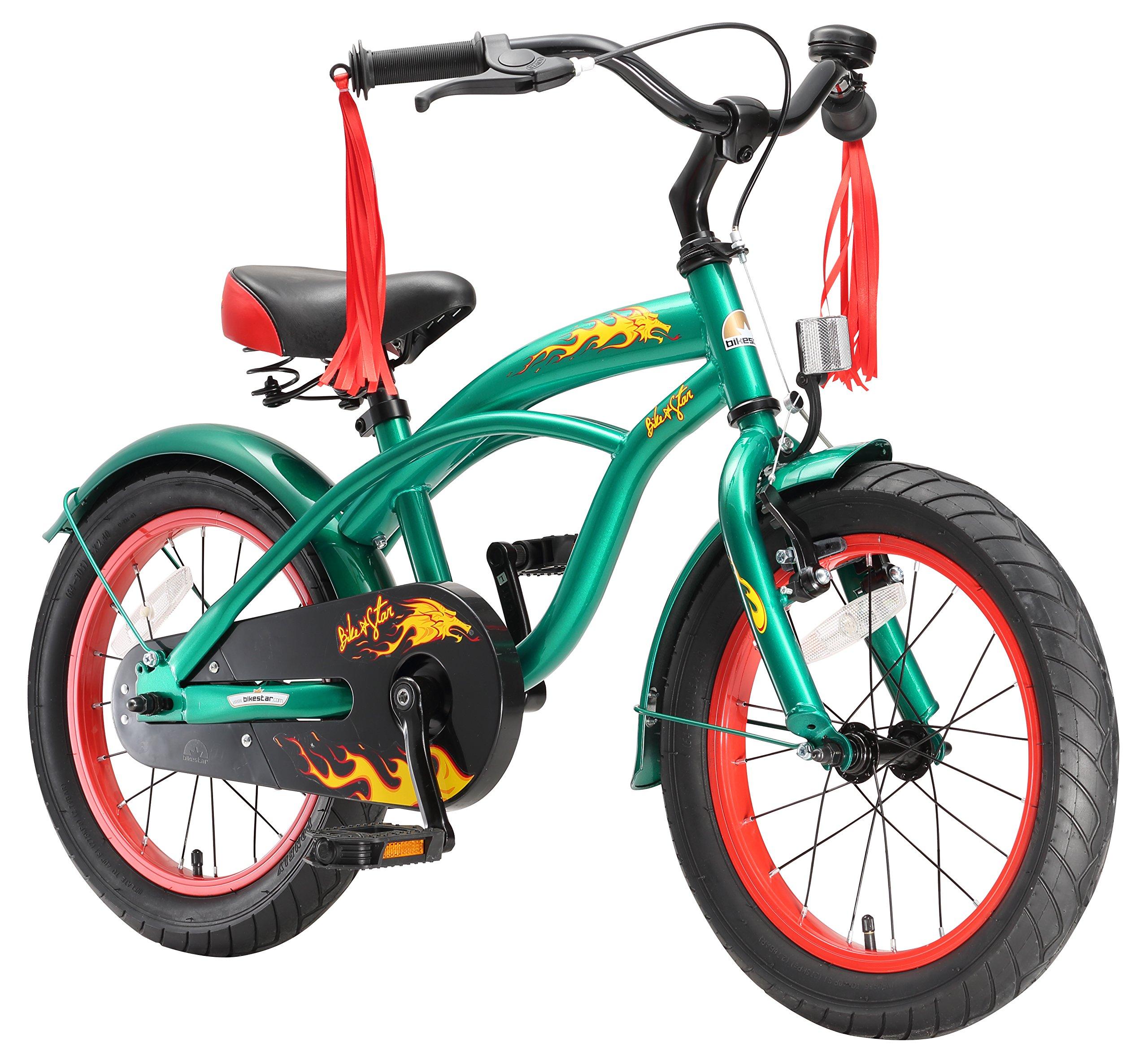 BIKESTAR® Premium 40.6cm (16 pulgada) Bicicleta Premium para los niños mas atrevidos