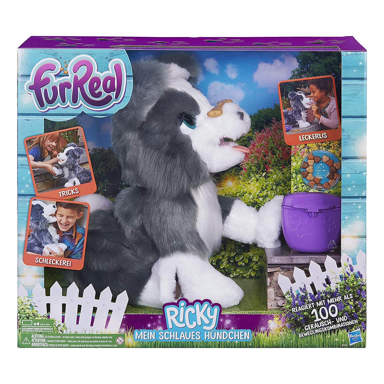 Amazon.es: Hasbro furReal Ricky - Juguetes de Peluche (Perro de Juguete, 4 año(s), Perro, furReal, Niño/niña)