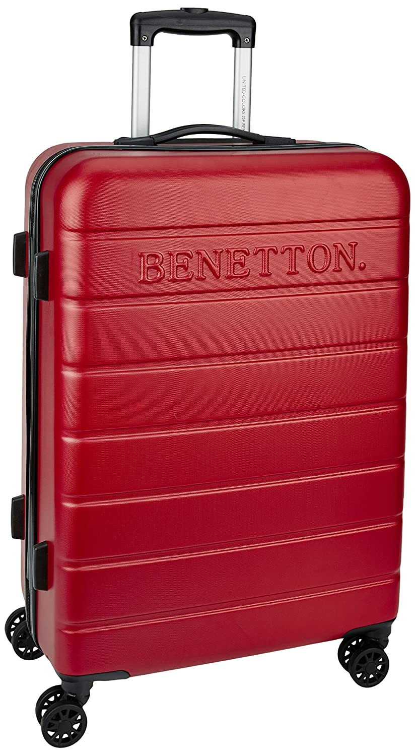 really cheap info for shop Buy United Colors of Benetton ABS 102 Liters Red Suitcases ...