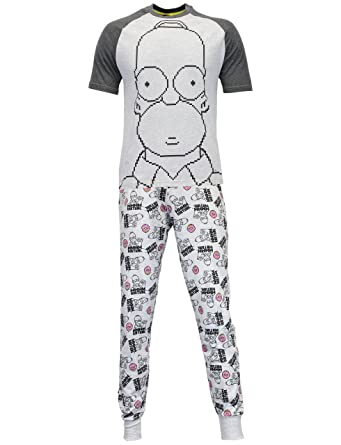 The Simpsons Mens Homer Pajamas Size Small
