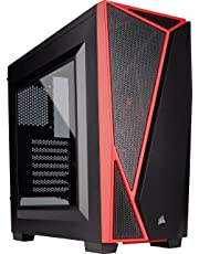 CORSAIR CARBIDE SPEC-04 Mid-Tower Gaming Case- Red - CC-9011107-WW