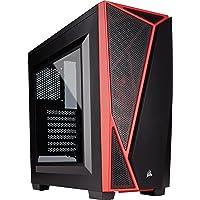 Gabinete Gamer Corsair SPEC-04 Carbide - Gabinete Mid-Tower, Preto e Vermelho Corsair, SPEC-04, Outros componentes