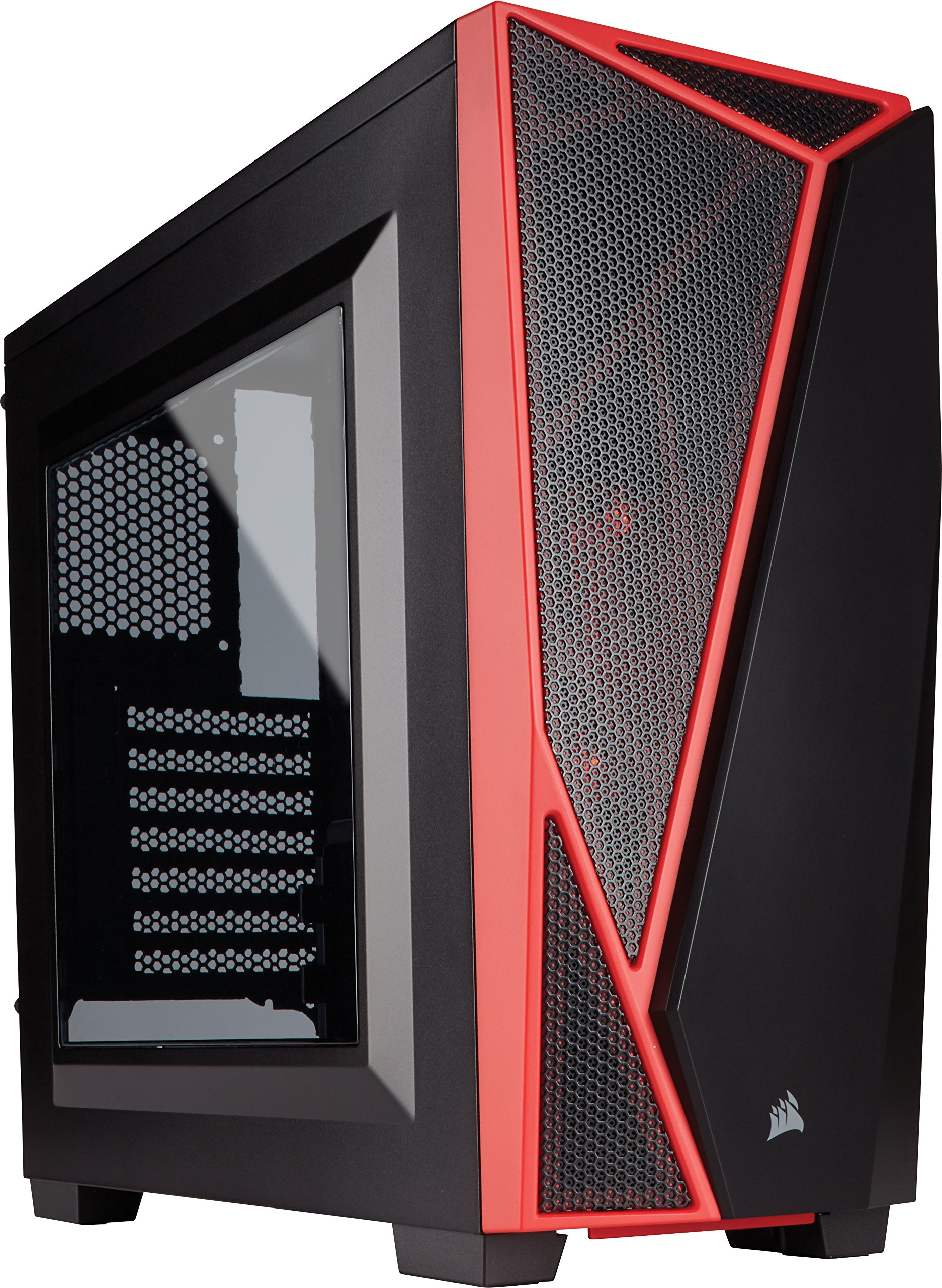 CORSAIR Carbide SPEC-04 Mid-Tower Gaming Case- Red