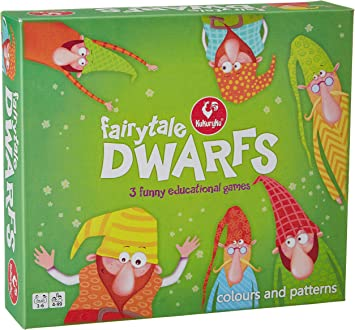 Kukuryku Board Game - Dwarfs (White)