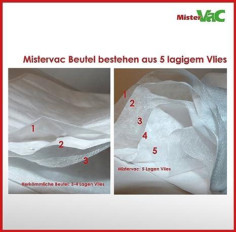 40 sacchetti per aspirapolvere adatti per Siemens VCBS122V00