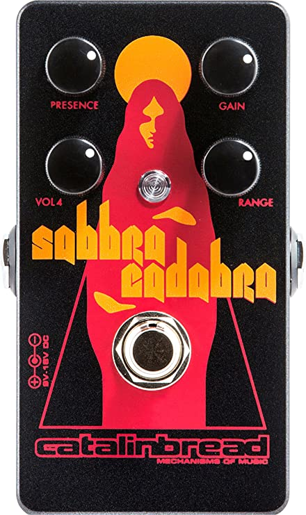 New Catalinbread Sabbra Cadabra Treble Boost Guitar Effects Pedal