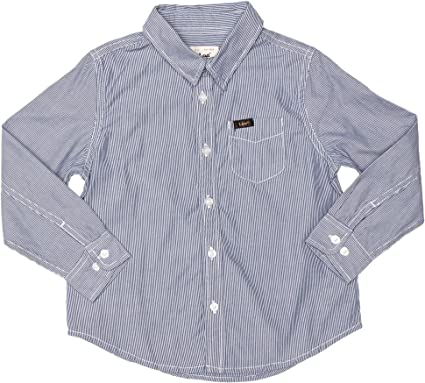 Lee - Camisa de Manga Larga para niño, Talla 4 Years - Talla Inglesa, Color Azul Oscuro (Night Blue): Amazon.es: Ropa y accesorios