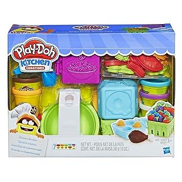 Play Doh Pâte à Modeler Lépicerie E1936 Varié Amazonfr Jeux Et