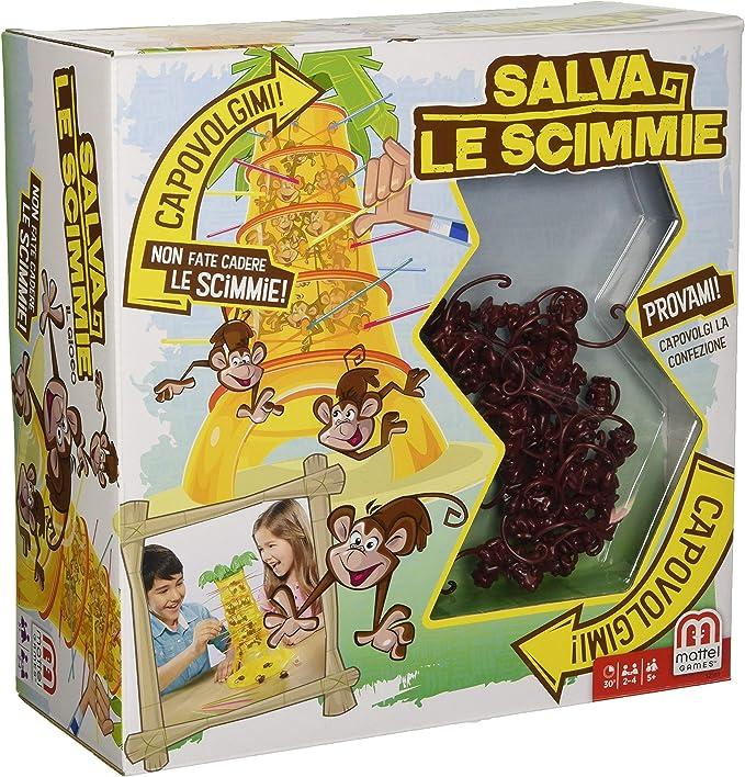 Mattel - Pack La Gallina Josefina + Monos Locos, juegos de mesa ...