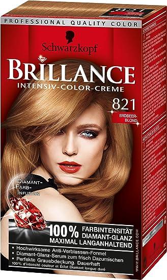 Brillance Intensiv Color Creme 821 Erdbeerblond 3er Pack 3 X 1
