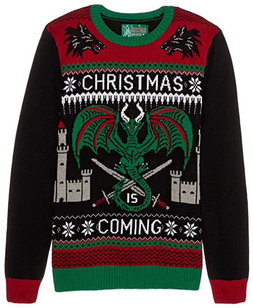 e86442eac0f62 Ugly Christmas Sweater Company suéter Feo con Luces para Hombre ...