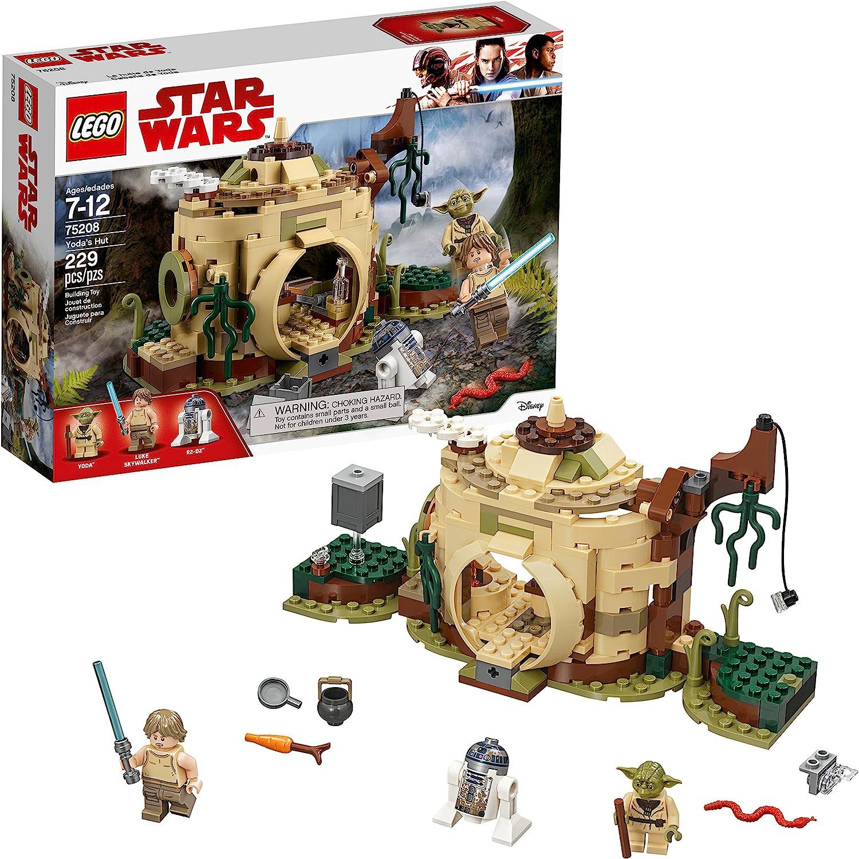 Amazon Com Lego Star Wars The Empire Strikes Back Yoda S Hut 75208 Buildin G Kit 229 Pieces Toys Games