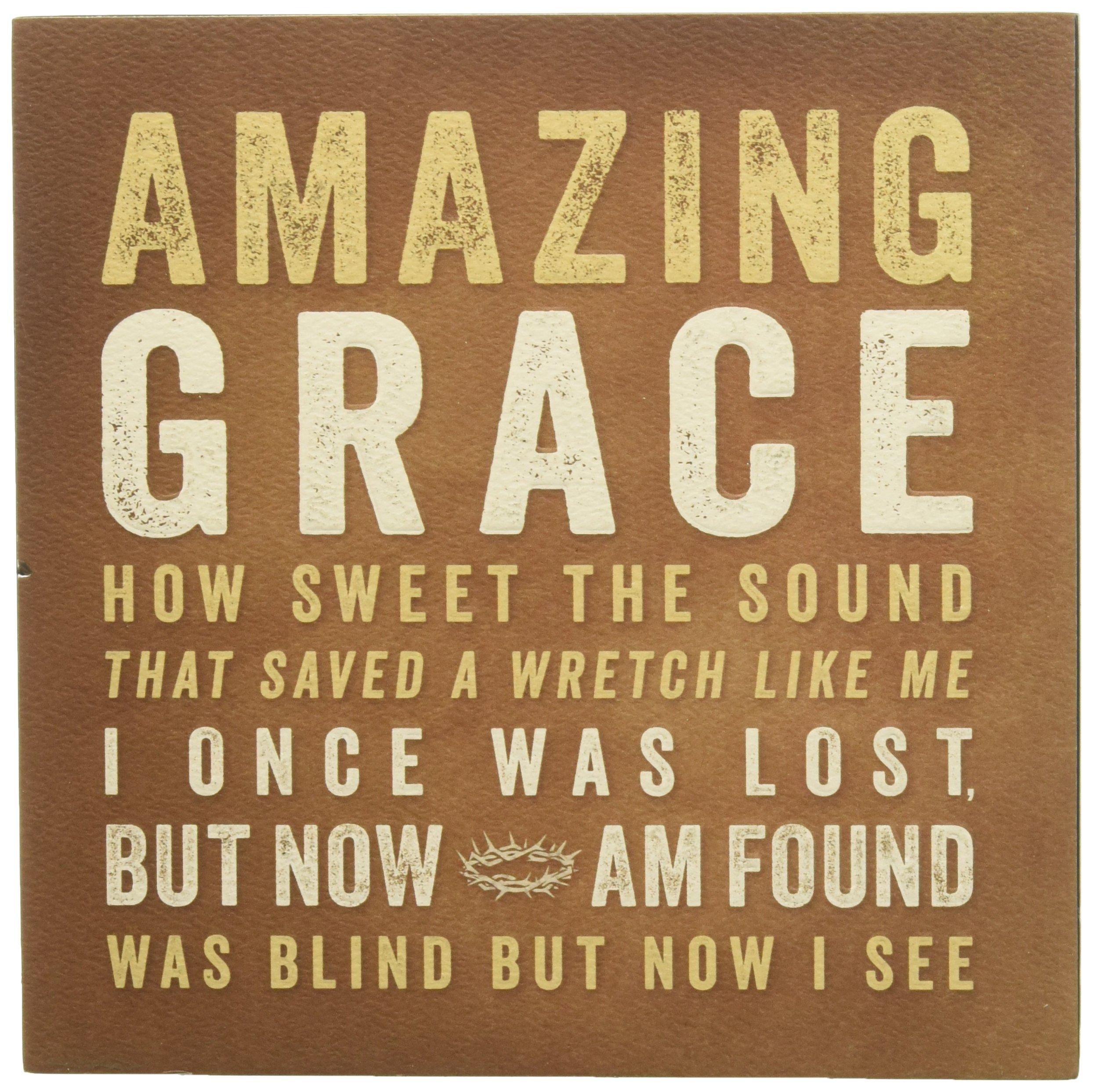 Wall Plaque - Amazing Grace