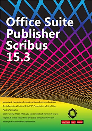 Office Suite Publisher Scribus Magazine & Newsletters