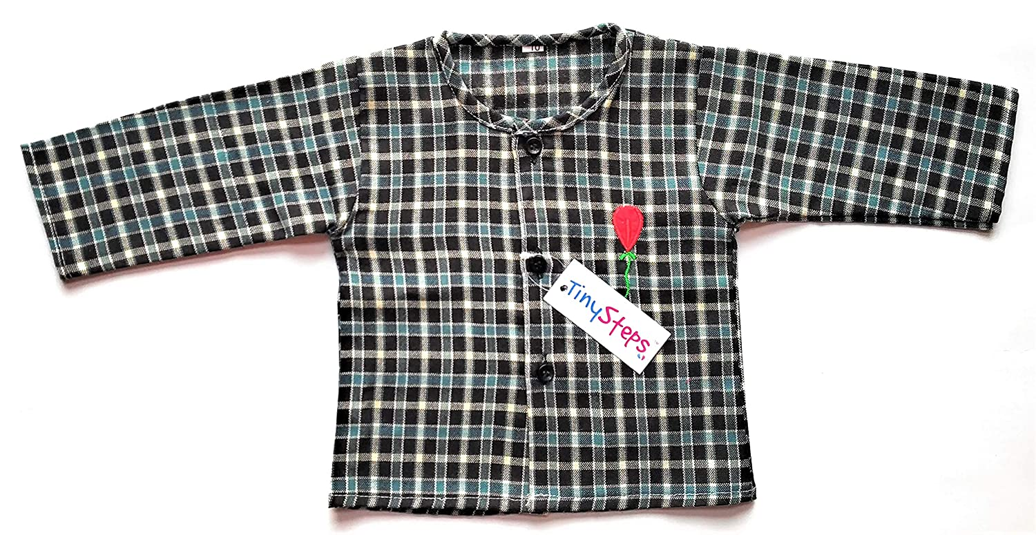 d510e7529 TinySteps New Born Baby Full Seleves Front Open Winter Wear Warm ...