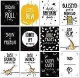 JumpOff Jo Baby Milestone Cards, Giraffe