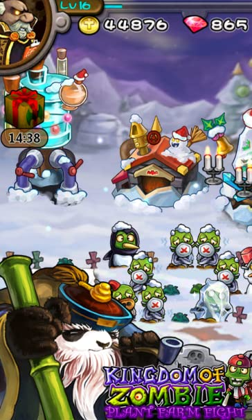 Kingdom Of Zombies : Plant Farm Fight! - from Panda Tap Games