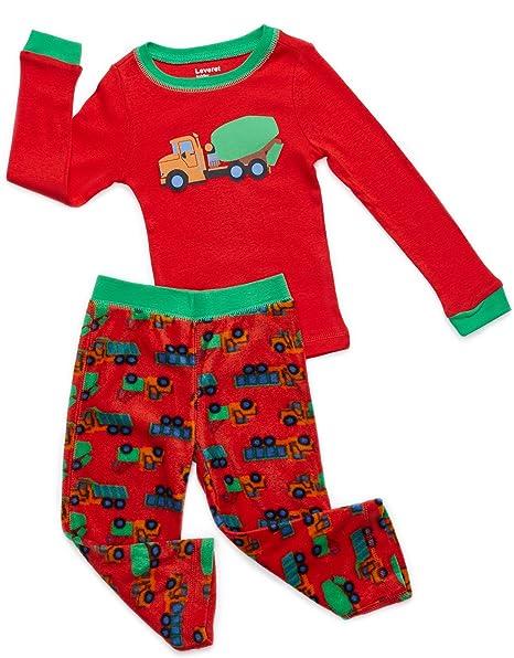 Amazon.com: Leveret pijama para niños de 2 piezas, conjunto ...