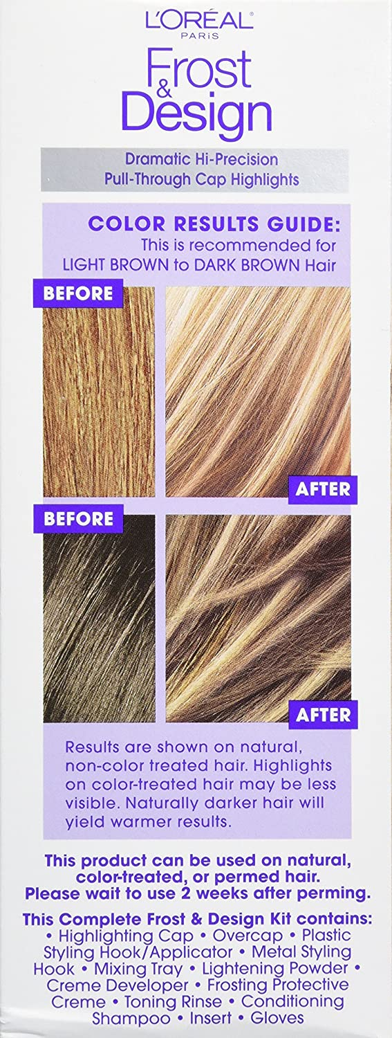Loral Paris Frost And Design Cap Hair Highlights For Long Hair