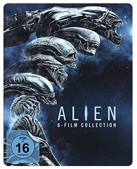 Alien 1-6 Steelbook [Blu-ray] [Limited Edition]
