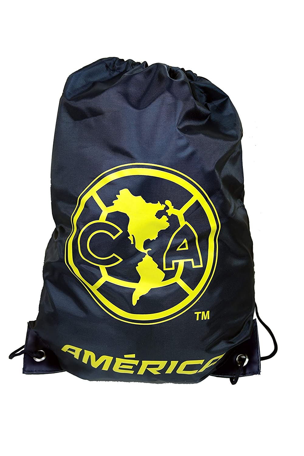 CA Club America Authentic Official Licensed Soccer Drawstring Cinch Bag 01 by RHINOXGROUP