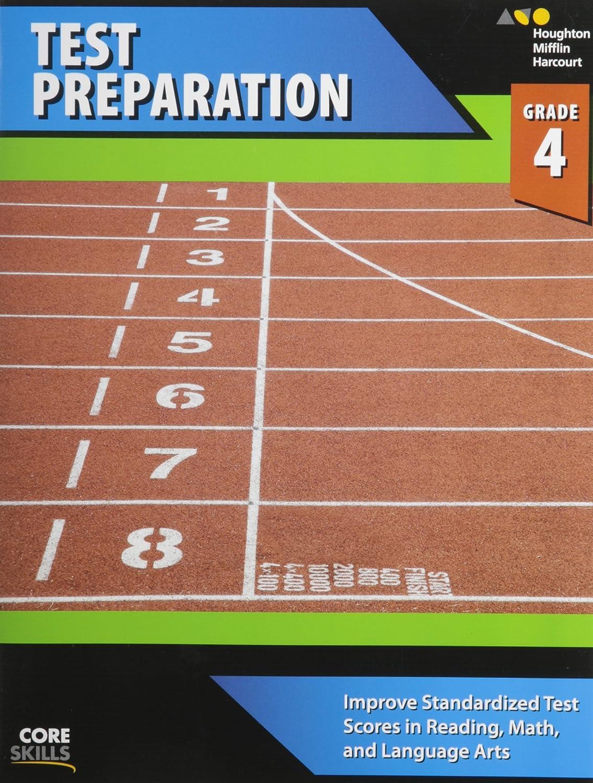 Workbook Grade 4 Steck-Vaughn Core Skills Test Preparation