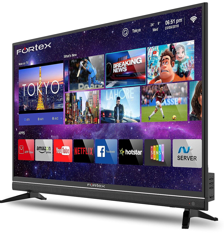 4K Ultra HD Fortex (43 inches) Smart LED TV FX43IPRO01 – Black