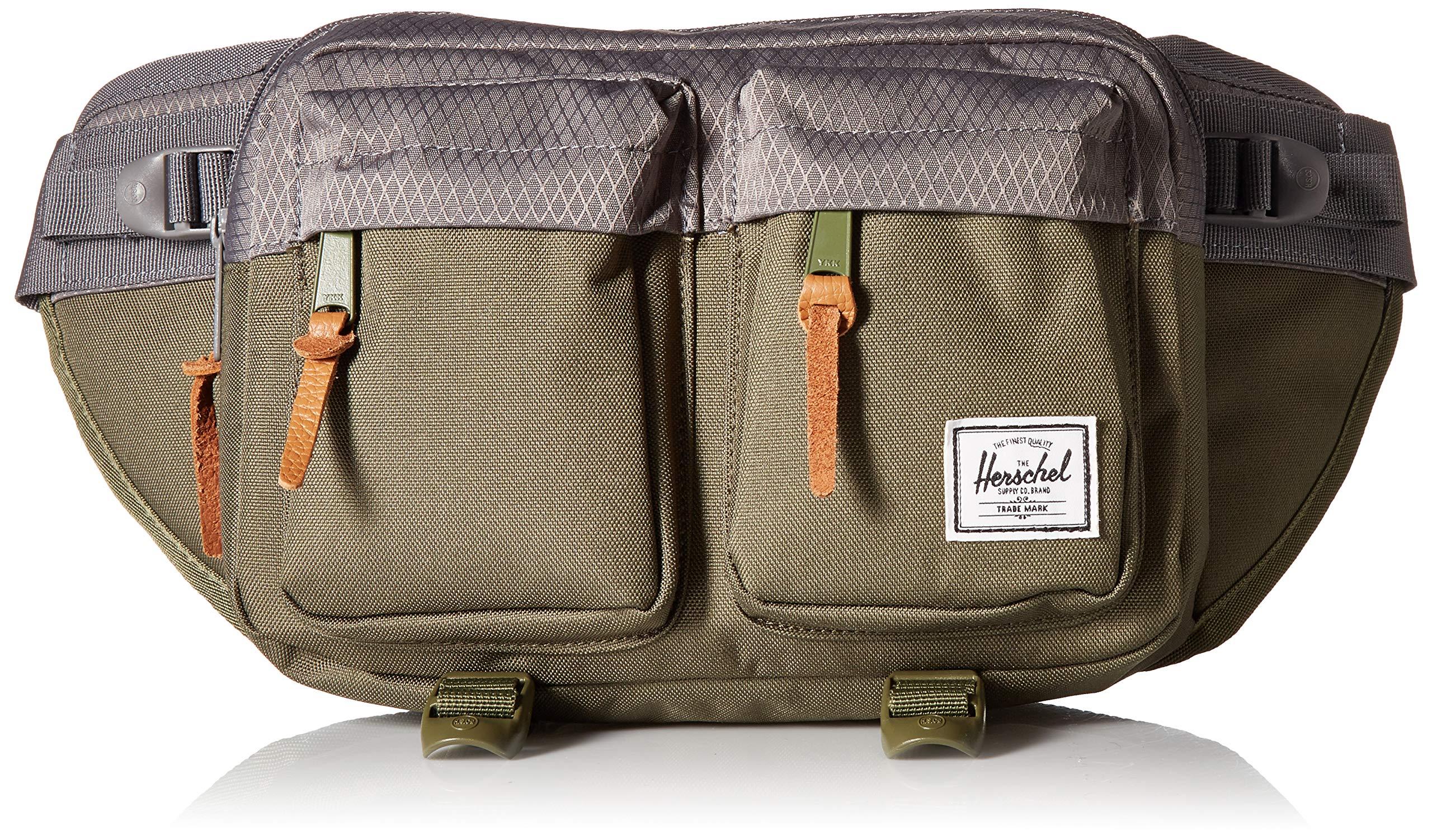 Herschel Supply Co. Eighteen Waist Pack, Ivory Green/Smoked Pearl, One Size