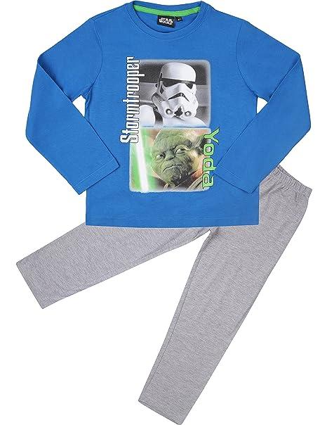 Star Wars Pijama Algodón para Niño EP2082: Amazon.es: Ropa y ...