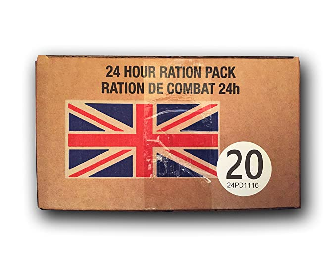 UK BRITISH Army Foreign MRE combat ration pack FSR IRP IMP ORP EPA 10/2016 fresh[Menu 20]