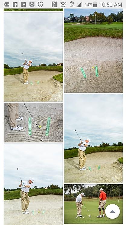 nueva) Divot Check ($5. Off)-Golf alineación palo Golf ...