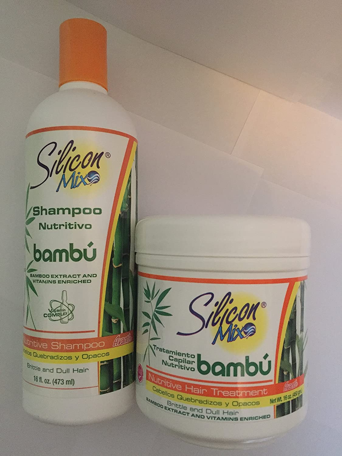 Silicon MIx Bamboo Shampoo & Treatment