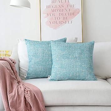 Amazon.com: Kevin textil brillante hilo chenilla tela funda ...