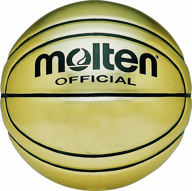 MOLTEN - Pelota de Baloncesto (Cuero), Color Dorado, Talla Size 7 ...