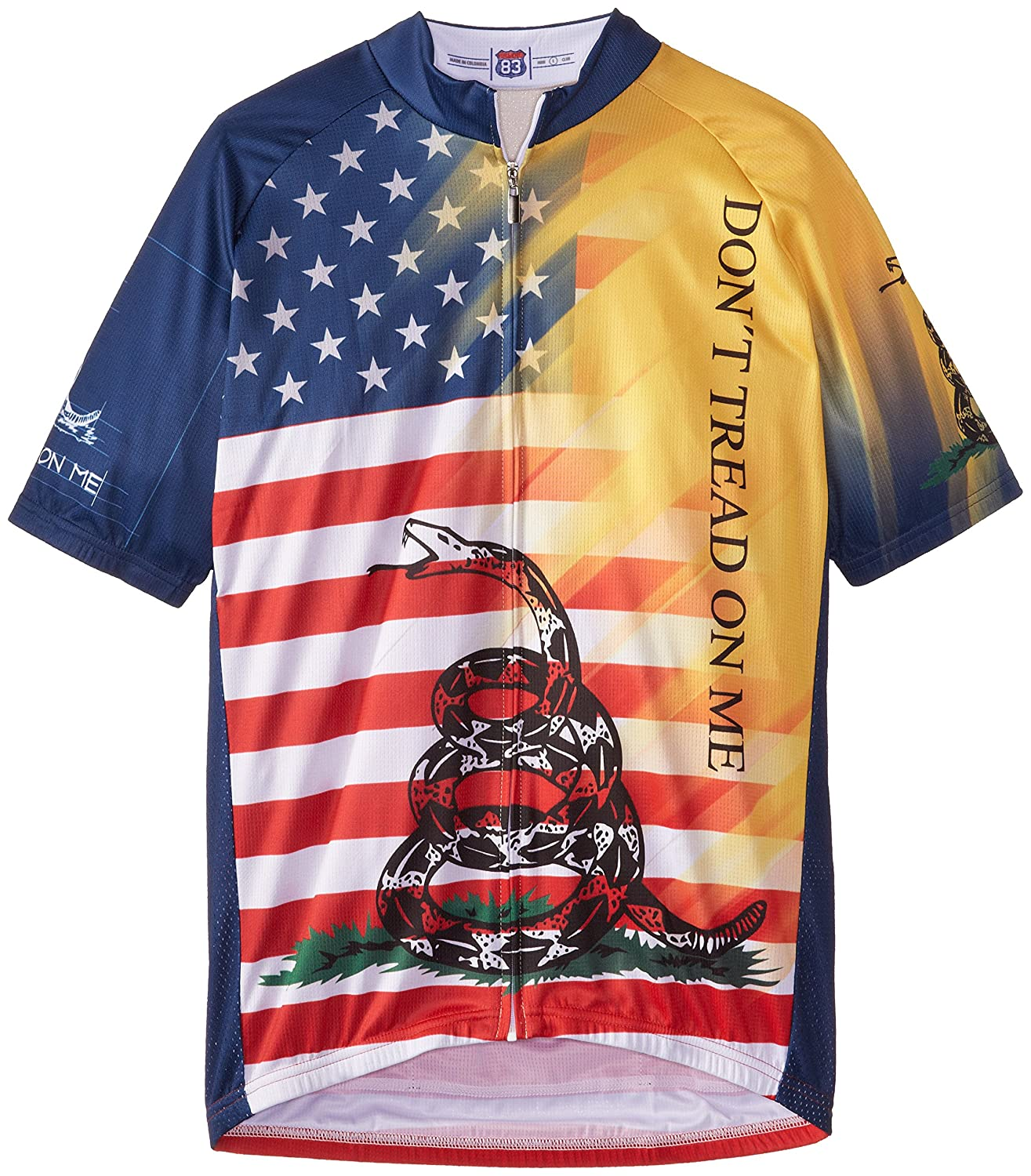 83sportswear Don & 039;t Tread On Me Cycling Jersey