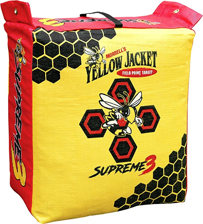 Best Archery Target : Morell Yellow Jacket Supreme 3 Field Point Bag Archery Target