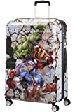 American Tourister - Disney Wavebreaker - Spinner 77/28 Marvel Hand Luggage, 77 cm, 96 liters, Multicolour (Avengers Rock)