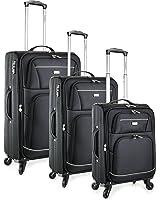 TravelCross Springfield Premium Luggage 3 Piece Lightweight Spinner Set
