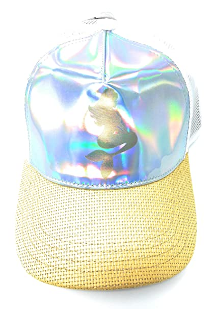 5f05b28760810 Image Unavailable. Image not available for. Color: No Boundaries Women's  Mermaid Mesh Baseball Hat
