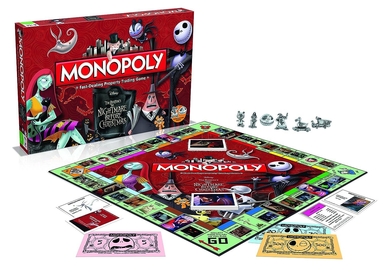 Nightmare Christmas before Christmas Nightmare The Monopoly Brettspiel Standard 5b9dc4