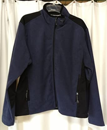WFS Windblock Fleece Jacket (X-Large Navy) at Amazon Men&39s