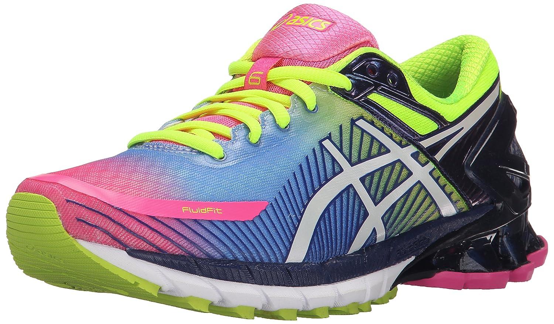 acheter populaire 807b8 64efa ASICS Women's Gel-Kinsei 6 Running Shoe, Hot Pink/White ...