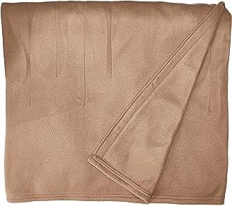 #10 Sunbeam Heated Blanket | 10 Heat Settings, Quilted Fleece, Acorn, Twin