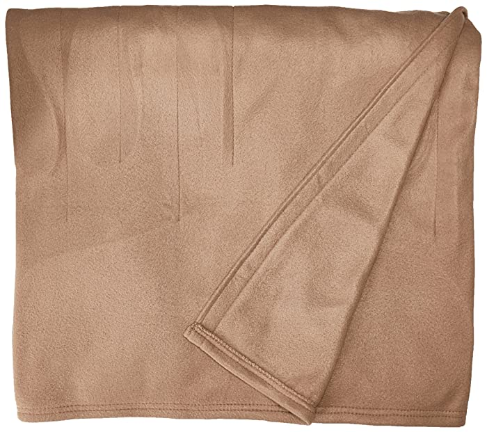 Sunbeam Heated Blanket | 10 Heat Settings, Quilted Fleece, Acorn, Twin