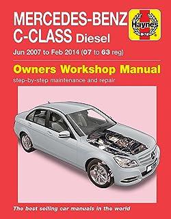 mercedes benz c class 2001 to 2007 haynes repair manual paperback rh amazon co uk Mercedes W201 Mercedes W205