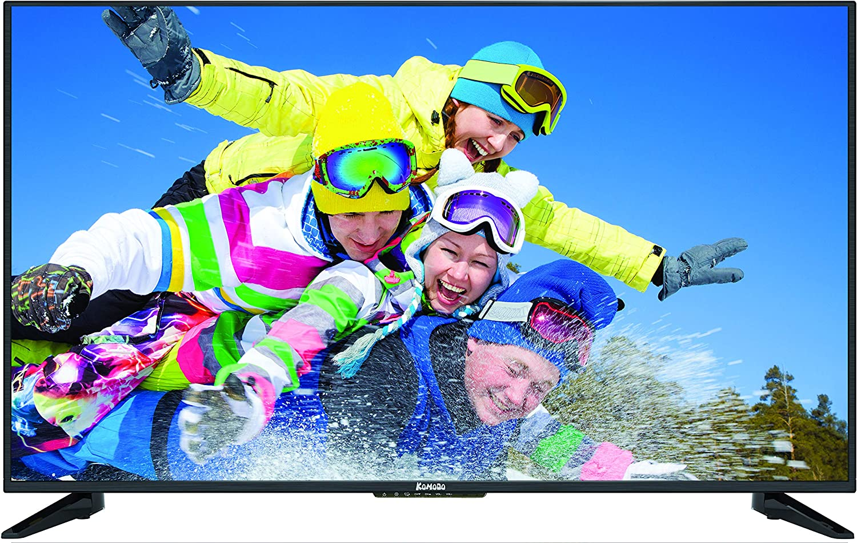"Komodo by Sceptre KU515R 50"" 4K UHD Ultra Slim LED TV 3840x2160 Memc 120, Metal Black 2019"