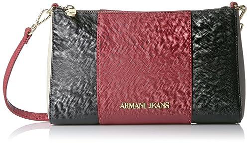 Armani Rouge 922544CC857 bandoulière Sacs Jeans femme Rot nyn7xSc0