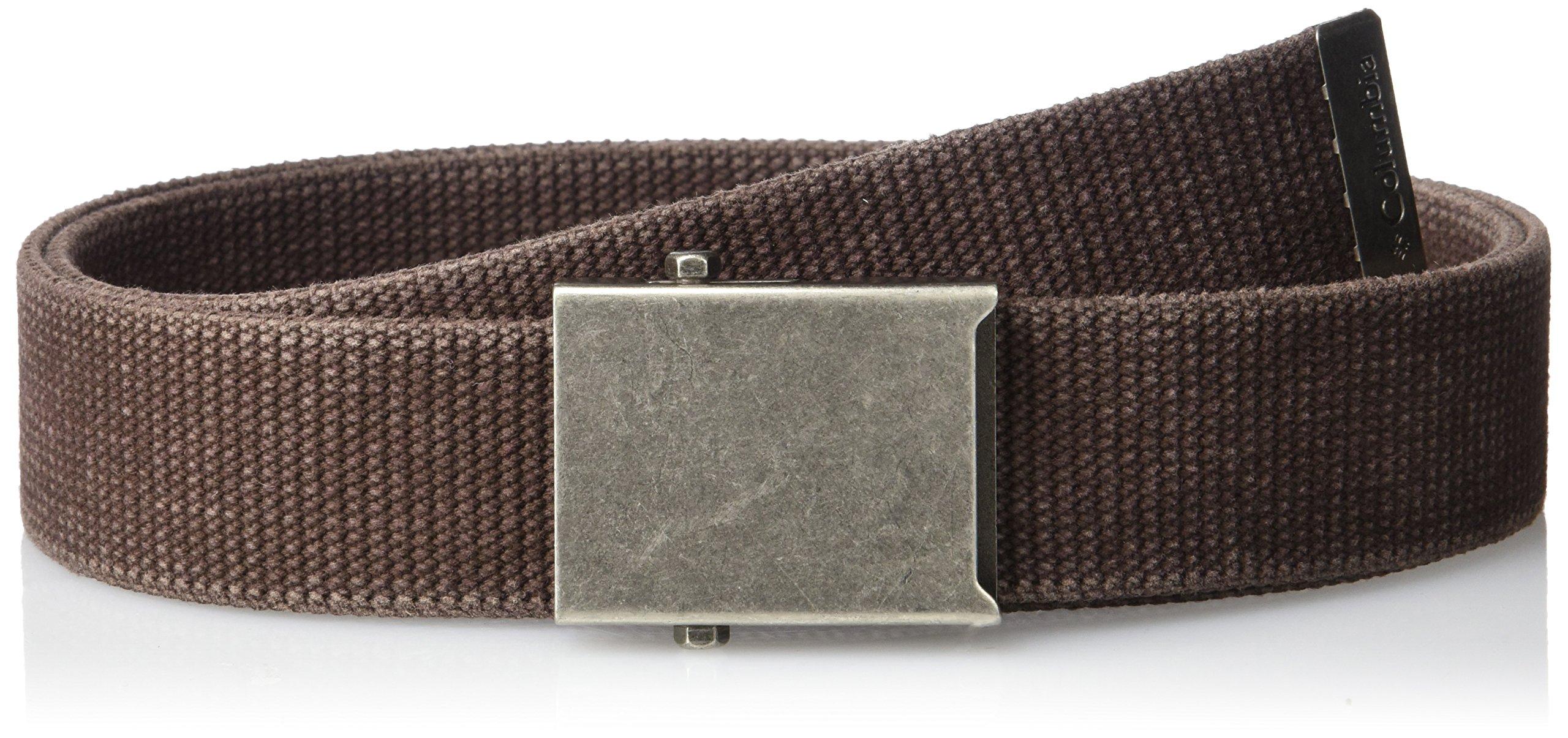 Columbia Men's Military-style Web Belt,Brown,42